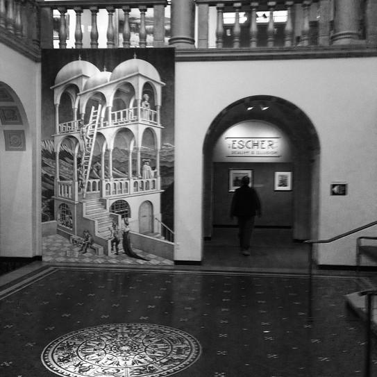 Escher at the Currier